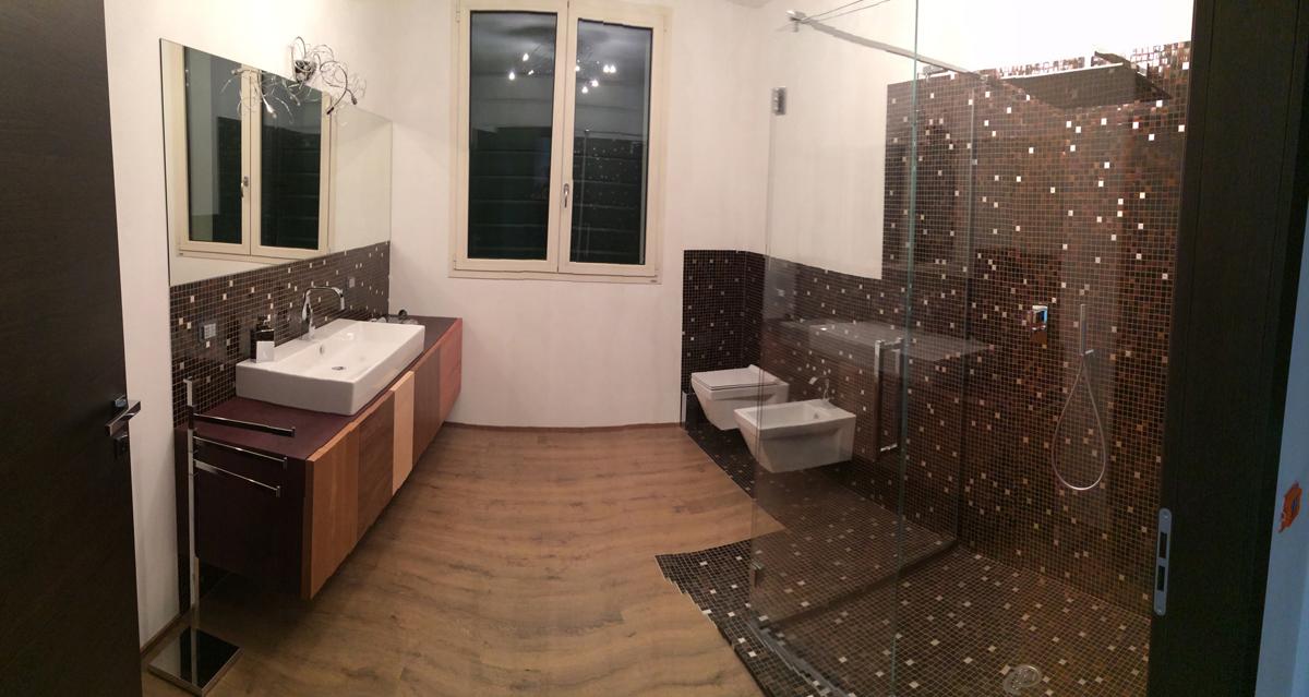 Bagno Con Mosaico Bisazza : Foto bagno mosaico bisazza di progetti lavori