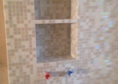 Progetto realizzazione piatto doccia in mosaico idee